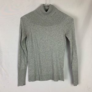 Banana republic gray turtleneck sweater